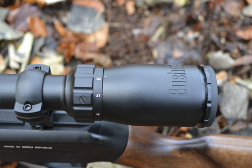 Bushnell 3-9x40 with fast focus eyepiece: ideal for rimfire ranges